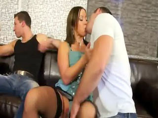 bisexual hot dick licking heats up