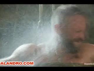 bondage and water bdsm gay slave punch
