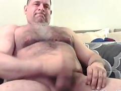 hairy fellow jacks his meat gay fuck gays gay cum
