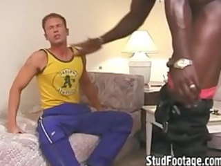 extremely impressive interracial gay hardcore