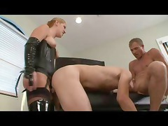 twink gets it on with a stunning dominating