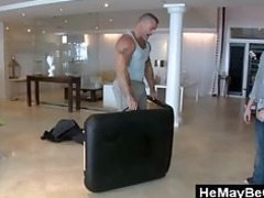 gay bear meets straight male and wills to tease