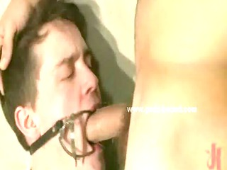 gay man into straitjacket forced to pierce