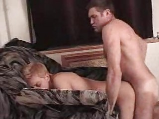 gay daddy bones amateur twink on furniture doggy