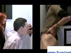 red-haired tricks straight boy into gay blowjob