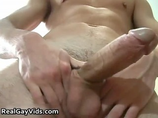javier p jerking his lovely difficult gay cock