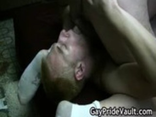 difficult gay bear drilling and licking gay video