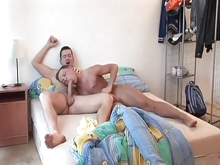 slutty gay daddy wakes up and copulates adorable