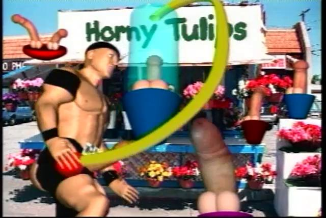 tough gay 3d cartoon porn action!