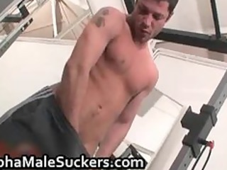 slutty gay tough drilling and licking part6
