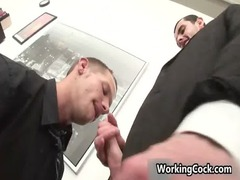 jake steel fucked and sucked on workplace gay boys