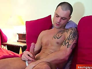 french, sport guy obtain wanked by a gay guy