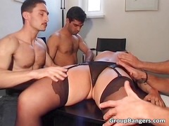 amateur gang fuck gathering with some older part3