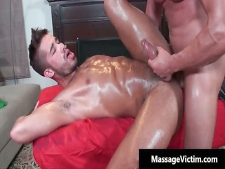 sweet fresh gay comes for a massage part1