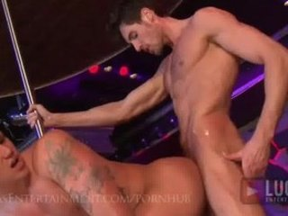 gay strippers pierce live on stage