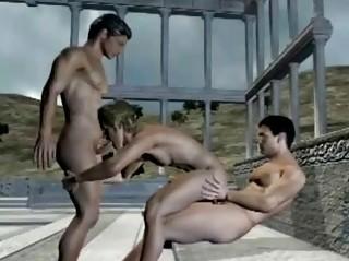 anime gay three people gangbanged group sex n