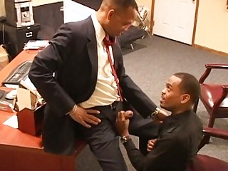 beautiful ebony gay stud had hiss oat pumped