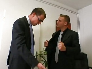 gay boss acquires turned on by super employee
