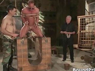 buffed fellow blindfolded and bound gay part6