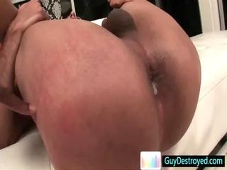 fucker gets his anus destroyed by dark libido gay