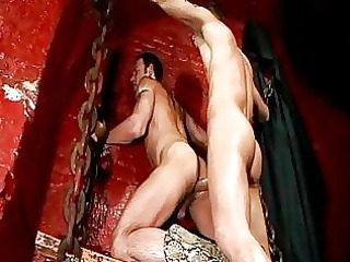 rough butt cowboy gay obtains his arse rammed in