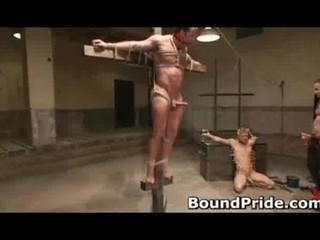tough gay bdsm - pain limit live ejaculate preview