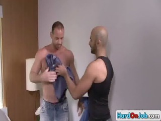 lucky boy obtains his amazing balls tasted gay