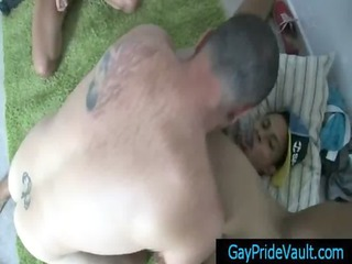 cute latin guy acquires rimmed and pierced gay