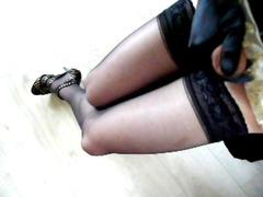 mimi crossdresser playing with libido