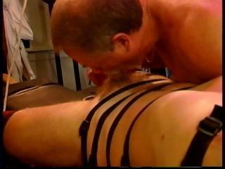 dirty and extreme libido and ball punish inside