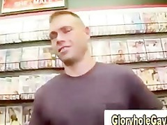 straight guy duped at gloryhole