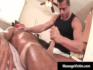 super and horny fucker gets the massage gay sex