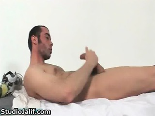 hunki edu marin pushing dildo his gay gay porno
