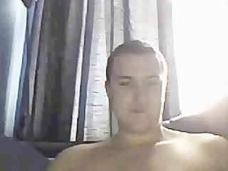 tom ohara wanking on cam when watching gay sex