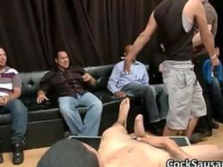 bunch of naughty gay fuckers go crazy in club