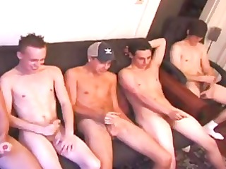 gay guys are jerking off