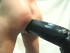 gaygiant sex toy and hand my ass