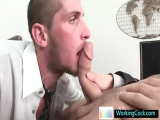 shane sucking and fucking his future boss by