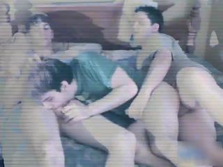 straight amateur man inside super gay triple part5