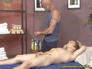 gay sex star massages twink