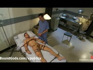 bound gay zapped with electricity into hospital