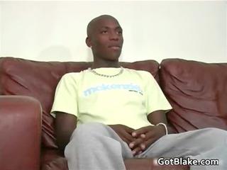 beautiful ebony nathan jerking his sweet penis