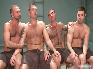 gay bdsm groupsex video 2 by boundpride