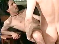 two hot hairy barebackers inside the pub 1 gay