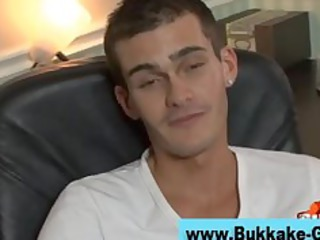 gay bukkake male gangbang bunch