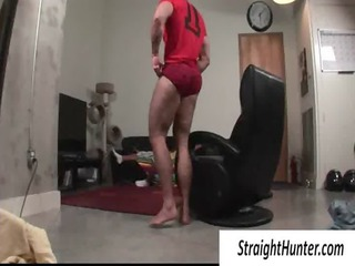 gay pushing dildo for a straight man