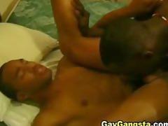 horny ebony gay drilled by his choco boyfriend