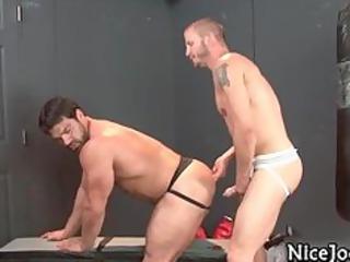 surprising sexy gay jocks fuck ass and suck part2