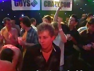 gay studs jerk off together at the celebration