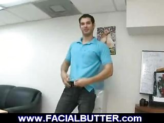 stud on initial day gay audition